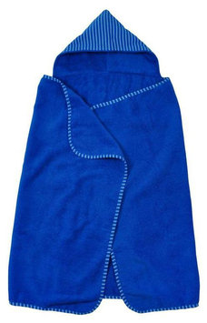 green sprouts by i play. Brights Organic Terry Hooded Towel - Royal