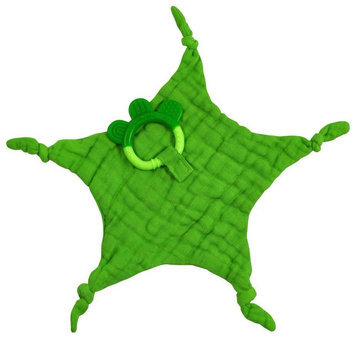 green sprouts by i play. Dream Window Organic Blankie Teether - Green - 1 ct.