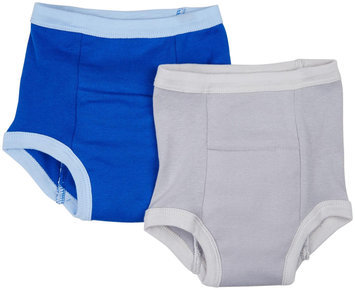 green sprouts by i play. Organic Training Pants 2 Pack (Toddler) - blue - 1 ct.