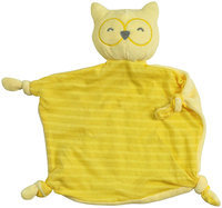 green sprouts by i play. Organic Blankie Animal-Yellow Owl - 1 ct.