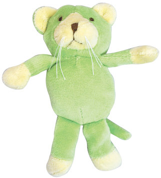 green sprouts by i play Sprouts Organic Velour Rattle Toy - Cat