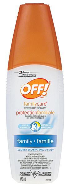 OFF! Insect Repellent Summer Splash