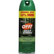 OFF! Deep Woods Aerosol Insect Repellent