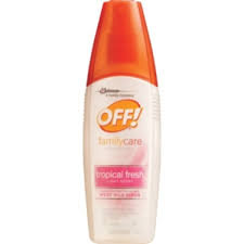 OFF! FamilyCare Tropical Fresh Light Scent Insect Repellent