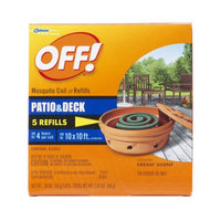 OFF! Mosquito Coil Refills Patio & Deck