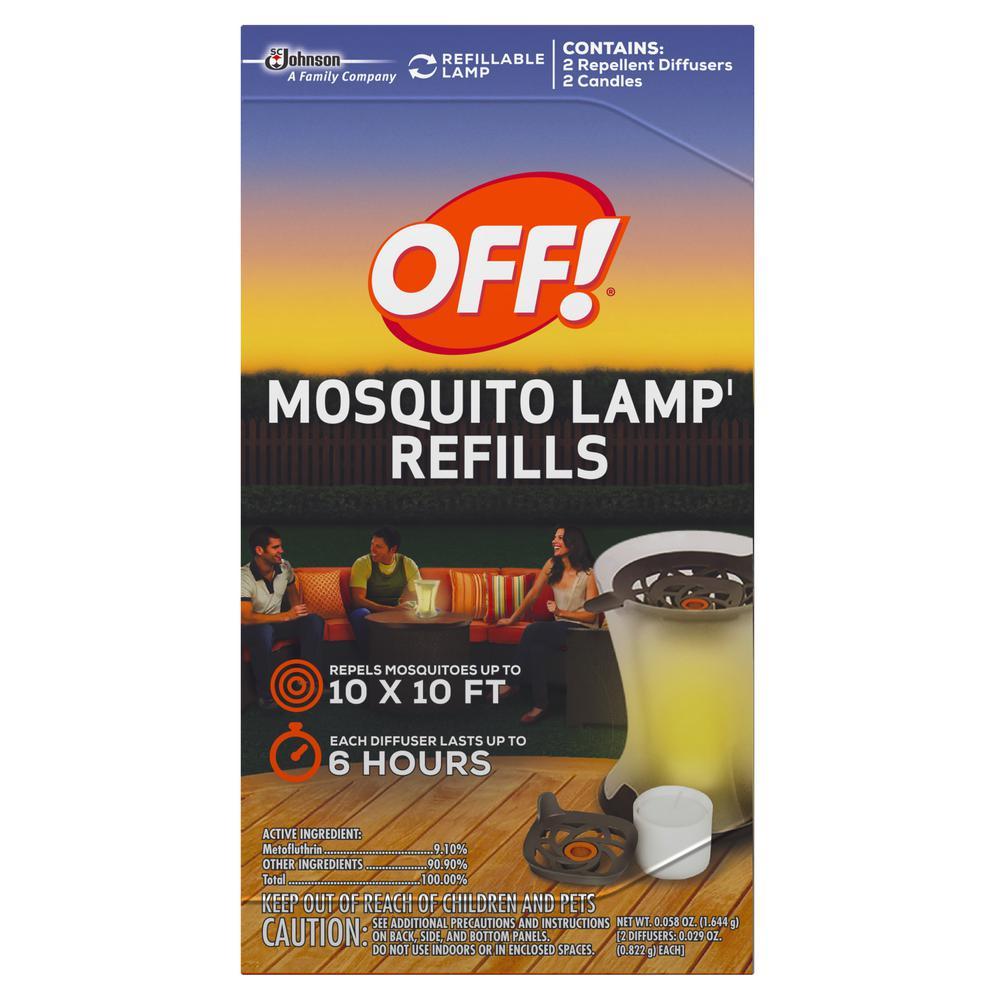 OFF! Mosquito Lamp Refills