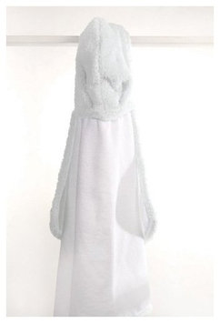Little Giraffe Chenille Towel, 41 X 24, White