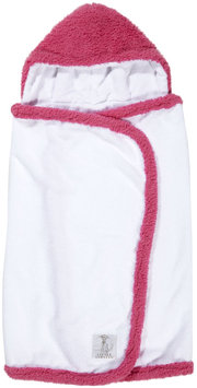 Little Giraffe Chenille Towel - Raspberry - 1 ct.