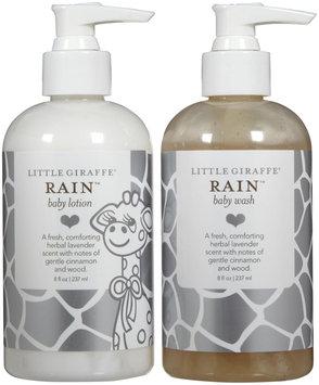 Little Giraffe Bathtime Wash and Lotion Set - Rain