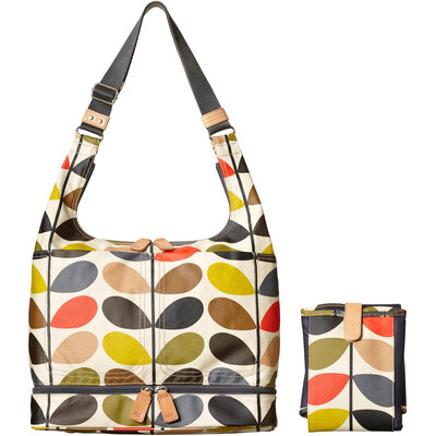Orla Kiely - Baby Bag Changing Mat (Multi) Diaper Bags