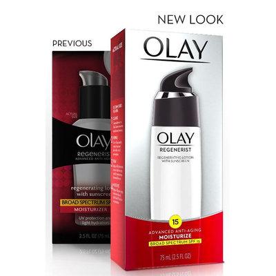 Olay Regenerist Regenerating Lotion with Sunscreen Broad Spectrum SPF 15