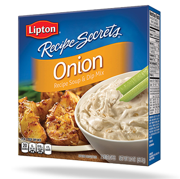 Lipton® Recipe Secrets Onion Recipe Soup & Dip Mix