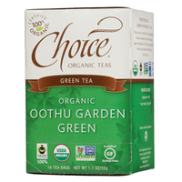 Choice Organic Teas Oothu Garden Green Green Tea