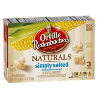 Orville Redenbacher's Natural Popcorn Simply Salted