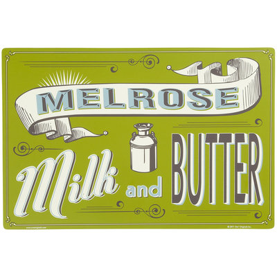 ORE Pet Melrose Milk Pet Placemat