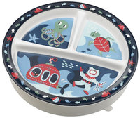 SugarBooger by O.R.E. Divided Suction Plate - Ocean
