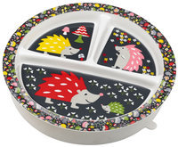 SugarBooger by O.R.E. Divided Suction Plate - Hedgehog