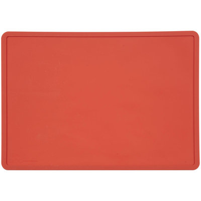 ORE Pet Silicone Pet Placemat - Rich Red