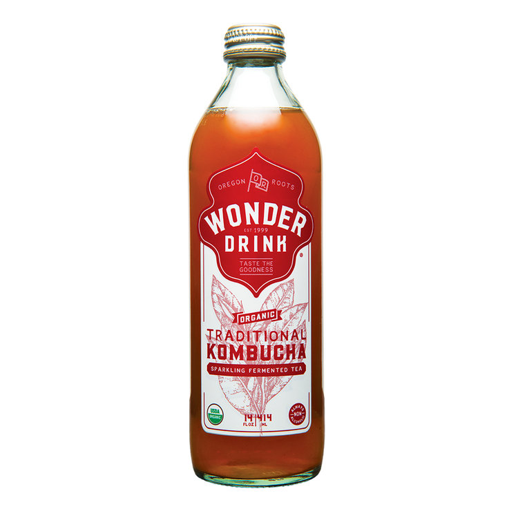Kombucha Wonder Drink Bottled Original Kombucha