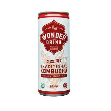 Kombucha Wonder Drink Original Kombucha in Can