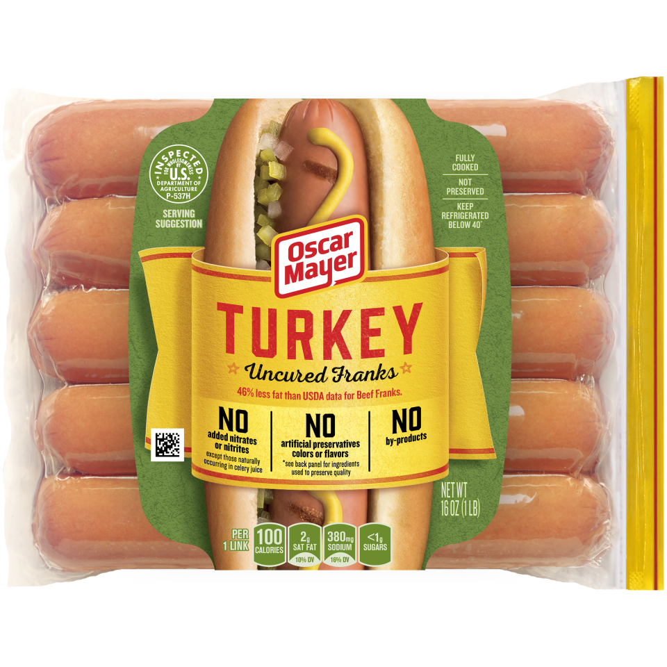 OSCAR MAYER Turkey Franks