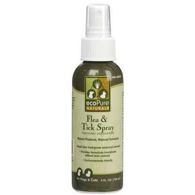 Ecopure Pure Natural Flea & Tick Spray - 4oz