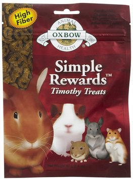 Oxbow Simple Rewards Treats - Timothy - 1.4 oz.
