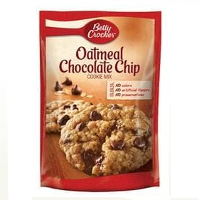 Betty Crocker™ Oatmeal Chocolate Chip Cookie Mix