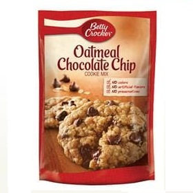 Betty Crocker™ Oatmeal Chocolate Chip Cookie Mix