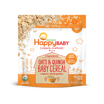 Happy Baby® Organics Clearly Crafted™ Oats & Quinoa