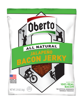 Oberto® All Natural Jalapeno Bacon Jerky