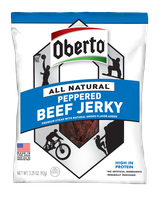 Oberto® All Natural Peppered Beef Jerky