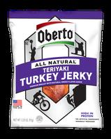 Oberto® All Natural Teriyaki Turkey Jerky