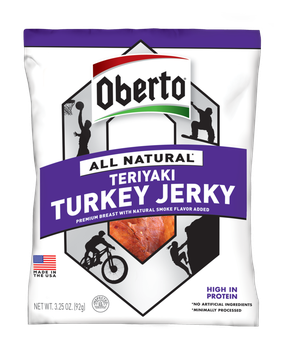 Oberto® All Natural Teriyaki Turkey Jerky