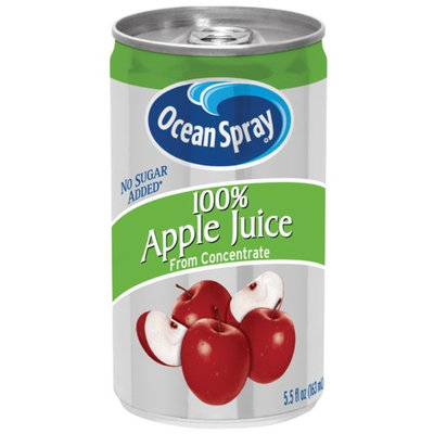 Ocean Spray 100% Apple Juice From Concentrate