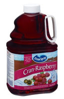 Ocean Spray 100% Juice Cran Raspberry Pomegranate Flavor