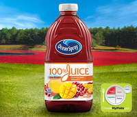 Ocean Spray 100% Juice Cranberry Mango