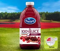 Ocean Spray 100% Juice Cranberry Pomegranate