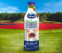 Ocean Spray 100% Juice Organic Cranberry Blueberry
