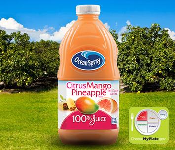 Ocean Spray Citrus Mango Pineapple 100% Juice