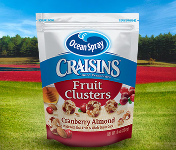 Ocean Spray Craisins Dried Cranberries Fruit Clusters Cranberry Almond