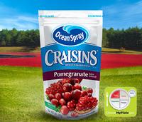 Ocean Spray Craisins Dried Cranberries Pomegranate