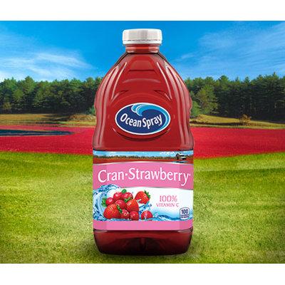 Ocean Spray Cran•Strawberry Cranberry Strawberry Juice Drink