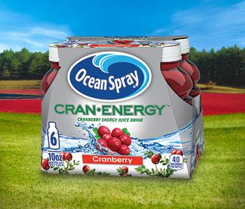 Ocean Spray Cran Energy Cranberry Energy Juice Drink