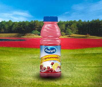 Ocean Spray Cran Lemonade Cranberry Lemonade Juice Drink