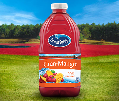 Ocean Spray Cran Mango Cranberry Mango Juice Drink
