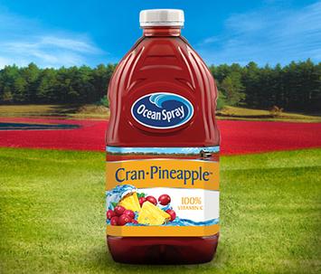 Ocean Spray Cran Pineapple Cranberry Pineapple Juice Drink