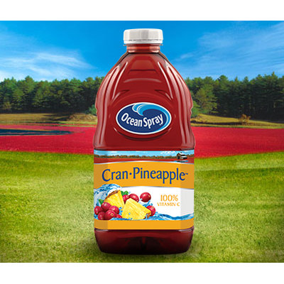 Ocean Spray Cran Pineapple Cranberry Pineapple Juice Drink