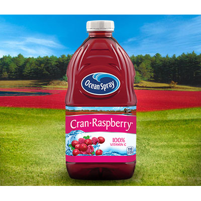 Ocean Spray Cran Raspberry Cranberry Raspberry Juice Drink