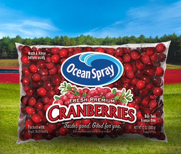Ocean Spray Cranberries Fresh Premium